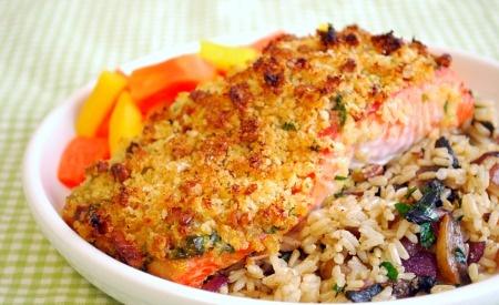 Baked Dijon Salmon - Blogcritics Tastes | food + recipes | Pinterest