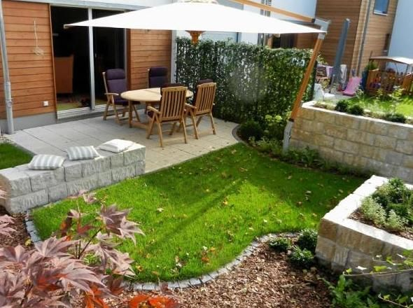 Small backyard landscaping layouts : Landscaping ideas for small yards garden gardening important