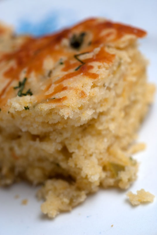 Sugar & Spice by Celeste: Jalapeno Cheddar Cornbread...Not Your Mama'...