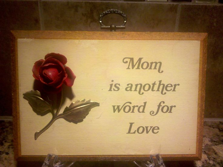 mom is another word for love wall decor read more http