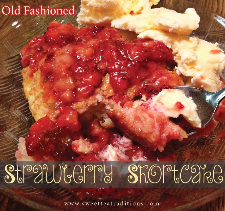... strawberry chiffon shortcake old fashioned strawberry shortcake