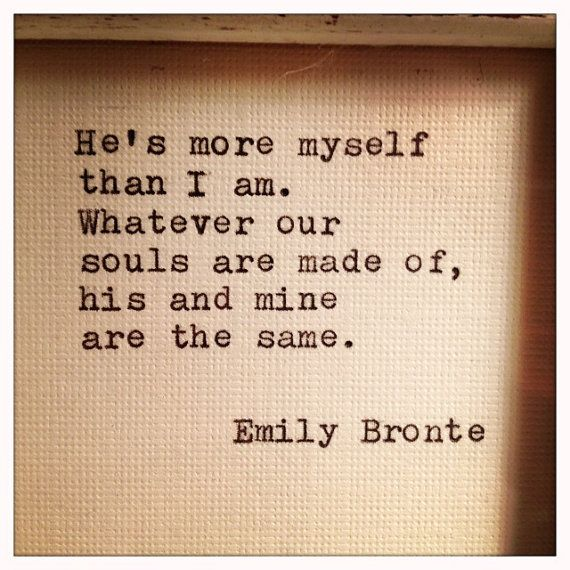 emily bronte love quotes quotesgram