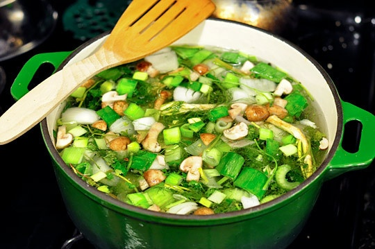 How To Make Vegetable Stock | Recipe