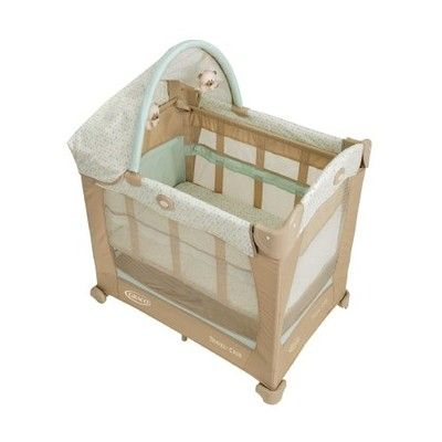 Graco Travel Lite Crib With Stages Peyton 1 Bed Mattress