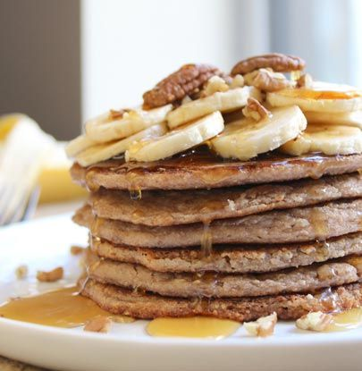 Banana Pecan Pancakes | Simple Dish | Quick, Easy, & Healthy Recipes ...