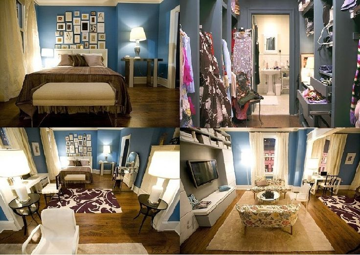 Carrie's Sex and the City apartment | Sweet Home | Pinterest
