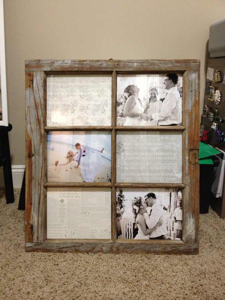 barn window picture frame crafty ideas pinterest