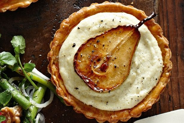 Caramelized Pear and Blue Cheese Tarts | Are You Not Entertained? | P ...