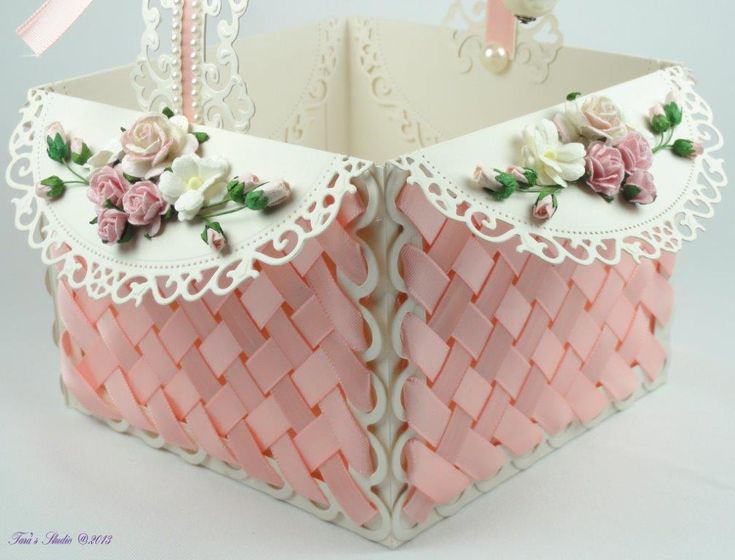 Pink Basket tutorial