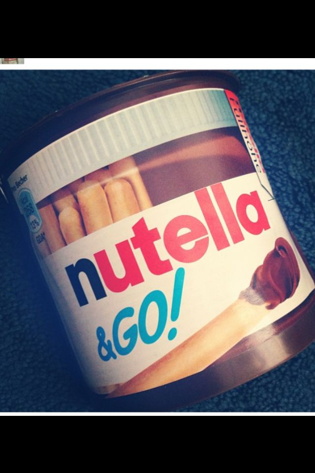 Nutella & Go | Cooking | Pinterest