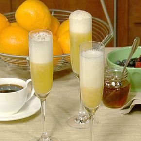 Chick Mango Bellini: Swap out sparkling water for Sprite, and Mango ...