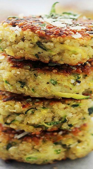 seasoned quinoa salad cheesy zucchini quinoa recipe yummly zucchini ...