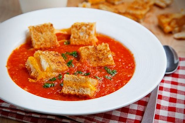 Grilled Cheese Croutons | Dairy Delights | Pinterest