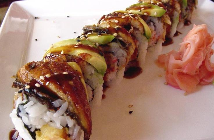 Dragon Roll sushi | Non Nom Nom | Pinterest