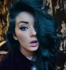 midnight blue hairstyles