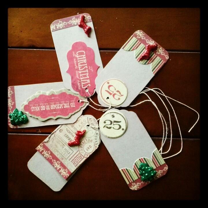 Handmade christmas gift tags xmas pinterest for Christmas tags on pinterest