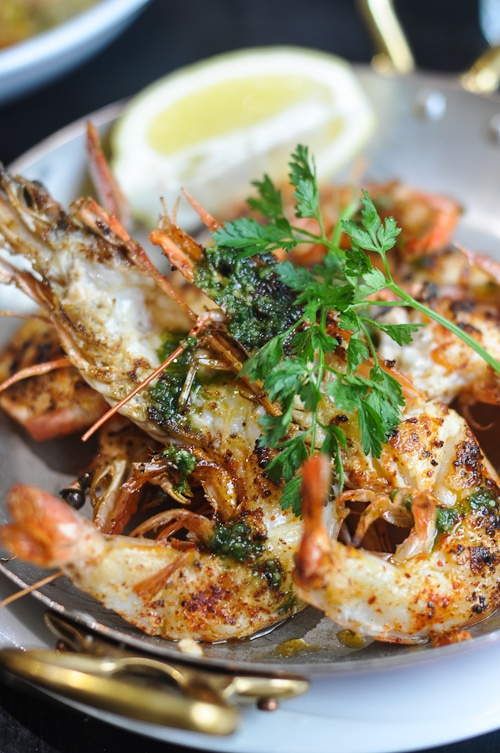 Roasted Langoustines _ Grilled Scampi | Gula! | Pinterest