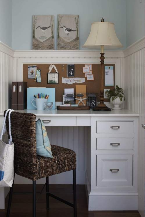 Cute space for a home office decor ideas pinterest for Cute home office ideas