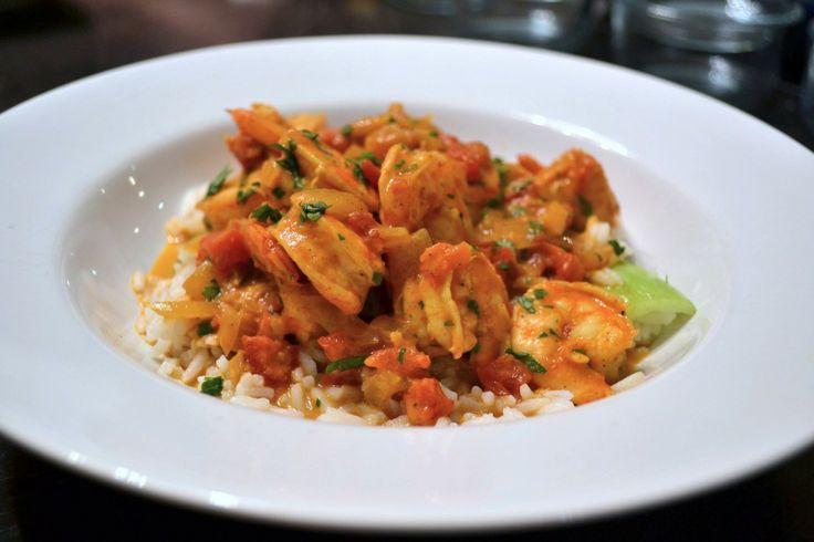 Thai coconut curry shrimp | Clean Recipes | Pinterest
