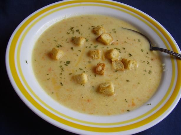 Cream of Cauliflower and Cheddar Soup | Soup | Pinterest