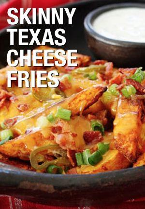skinny texas cheese fries