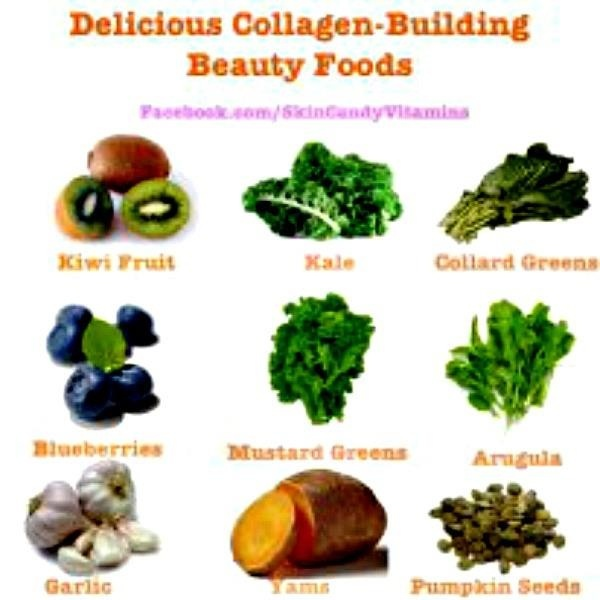 Collagen Building Foods Health And Fitness Pinterest