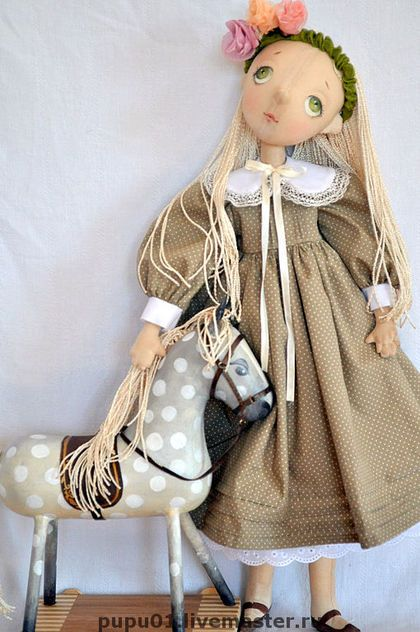 Munecas Hechas a mano De Coleccion. Masters Feria - pista a mano!. Hecho a mano. art handmade doll Pinterest Handmade dolls, Han