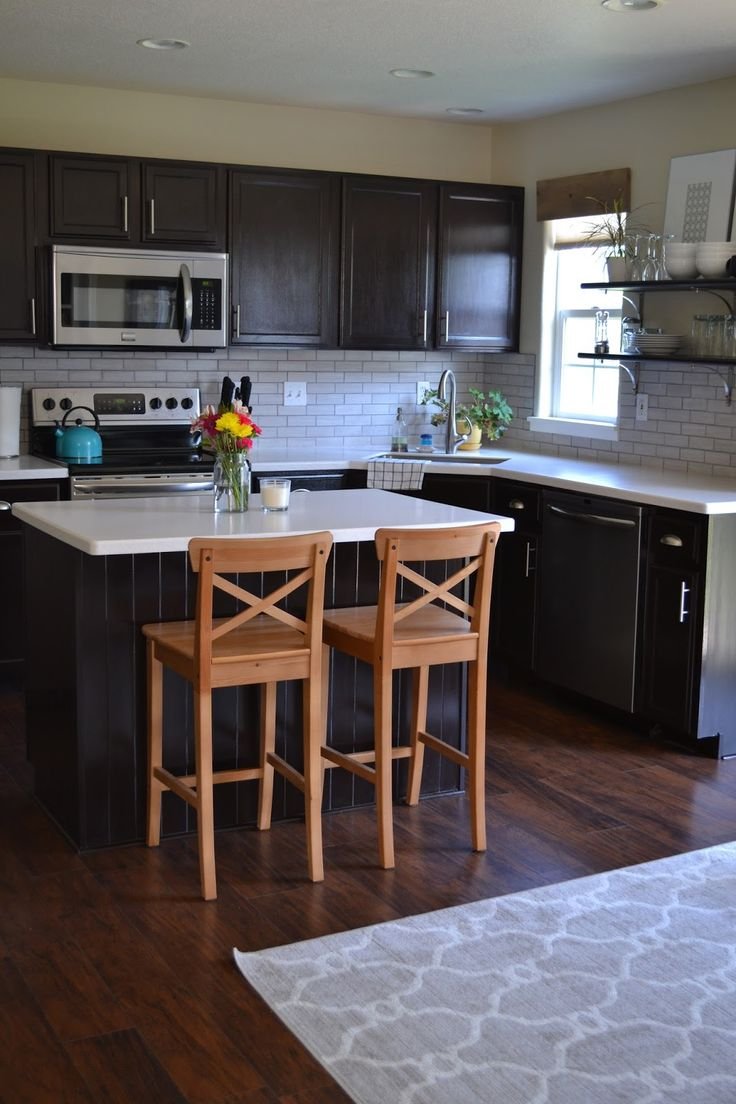magenta and lime kitchen reveal  home dreamy kitchens  Pinterest