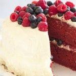 Raspberry and Blueberry Red Velvet Cake | Yum | Pinterest