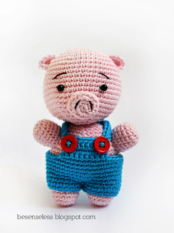 Amigurumi Pig Free Pattern : amigurumi pig pattern Crochet toys Pinterest