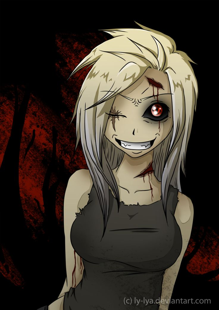 Anime Zombie Girl Wallpaper