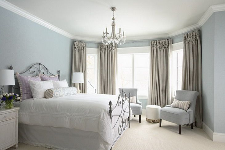 Blue Luxury Master Bedroom Color Scheme Things I Like Pinterest