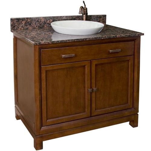 Semi Recessed Vessel Sink : semi recessed vessel sink bathroom Pinterest