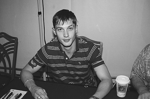 Tom Hardy Young