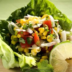 Corn, Sweet Onion, and Tomato Salad | Healthy Foods | Pinterest