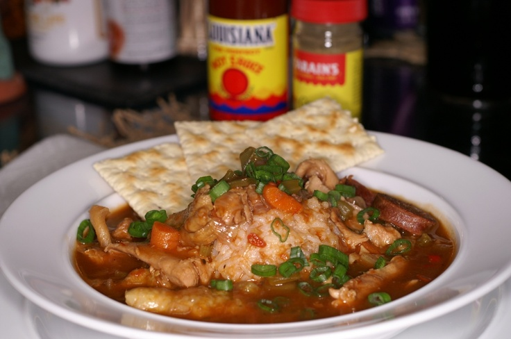 Chicken & Andouille Sausage Gumbo | Absolutely Delicious - Soups | Pi ...
