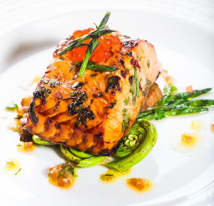 Maple-Soy Glazed B.C. Salmon | Tory Martindale, Executive Sous Chef of ...