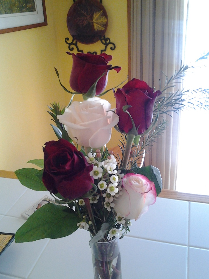 valentine bouquet of roses