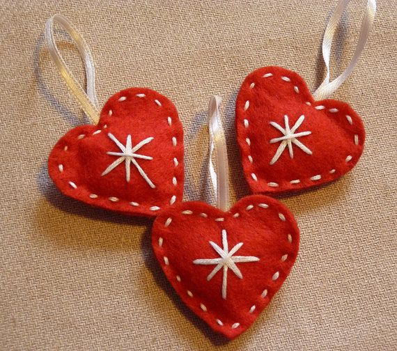 Handmade felt christmas decorations christmas pinterest