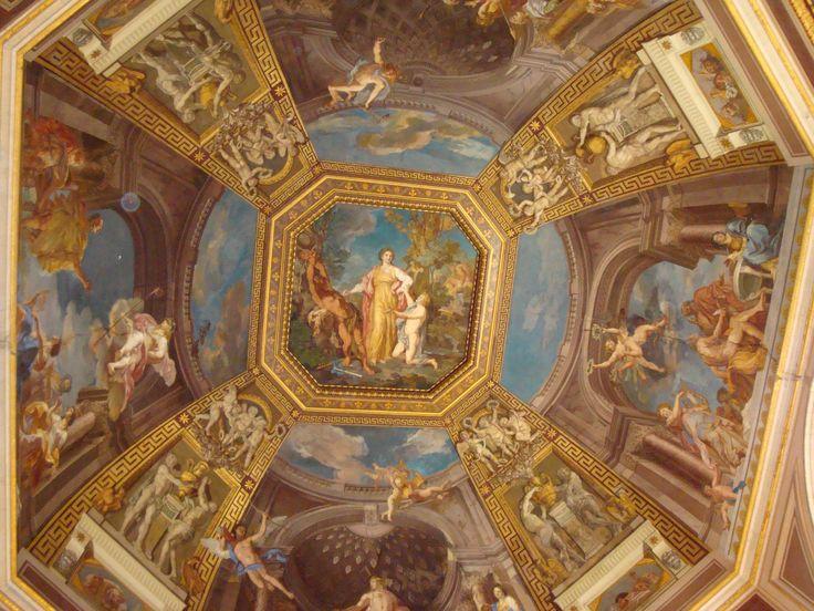 Ceiling Vatican Museum Photography Pinterest