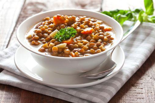 Hearty Lentil Soup   ♥♥♥ Healthy EATS ♥♥♥   Pinterest