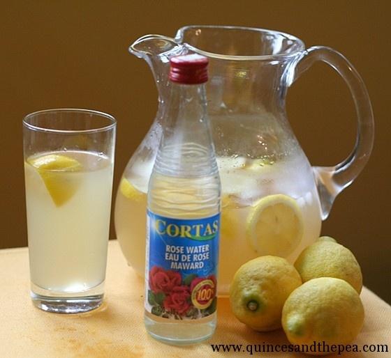 my favorite! Rosewater lemonade reminds me of Abu's