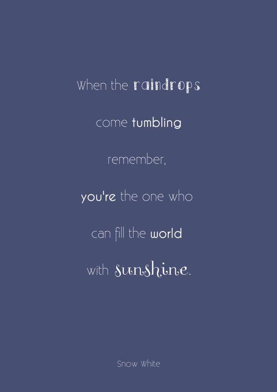 Disney Princess Word Art. Snow White Quote (Printable) Disney Snow White Quotes
