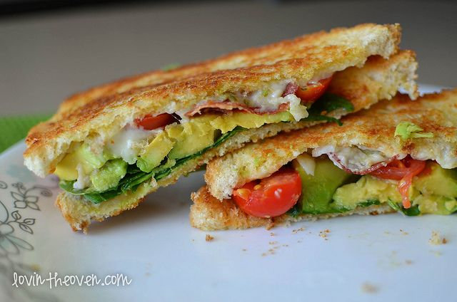 BLT Sandwich with Avocado - Lovin' From The Oven
