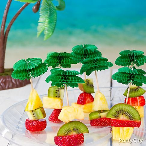 Easy luau party appetizers