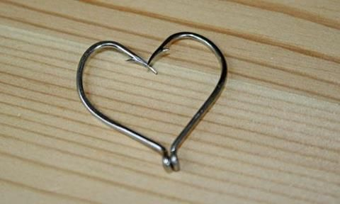 Fish hook heart tattoos pinterest for Fish hook heart tattoo