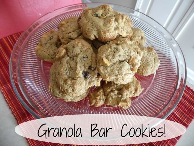 you ever had Granola Bar Cookies? These have all the yummy granola ...