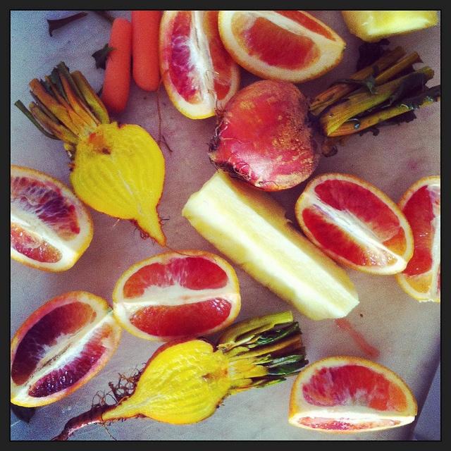 Orange beet carrot pineapple juice | Juicing Recipes | Pinterest