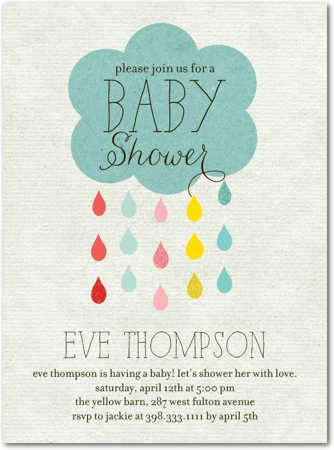 Tiny Prints Baby Shower Invitations for good invitations example