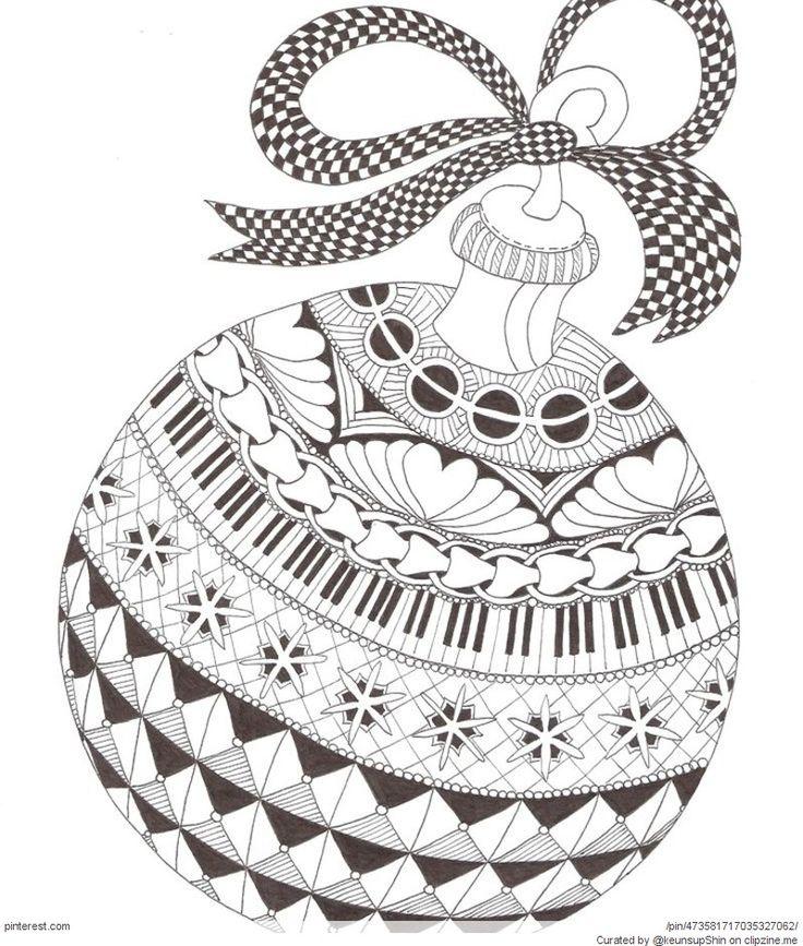 Zentangle Christmas Patterns Zentangles Patterns Free